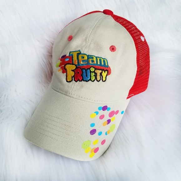 Cap America Other - Team Fruity Pebbles funny breakfast cereal hat 5e8703624be3